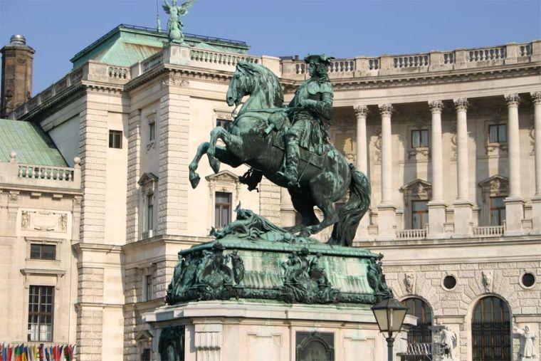 Prinz Eugen Reiterdenkmal Wien