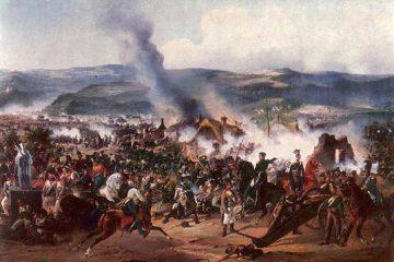 А. Коцебу. Сражение при Кульме 17-18 (29-30) августа 1813 г.
