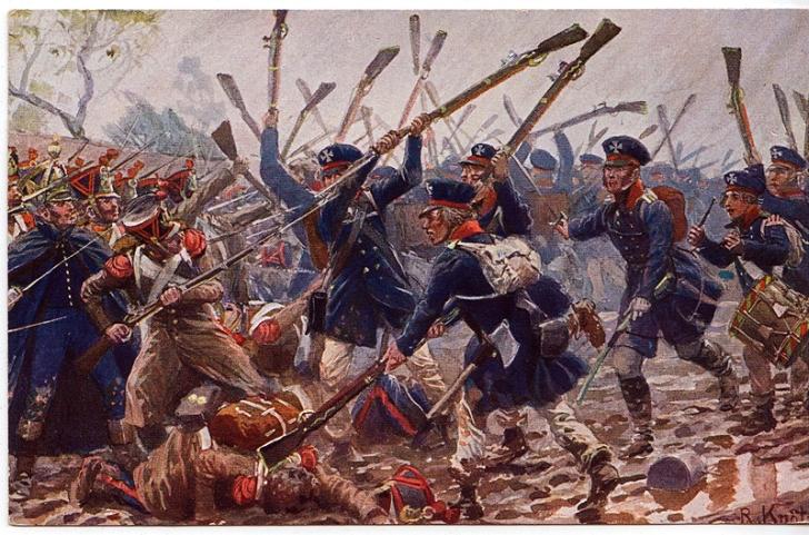 Подвиг конного полка в сражении при аустерлице в 1805 году