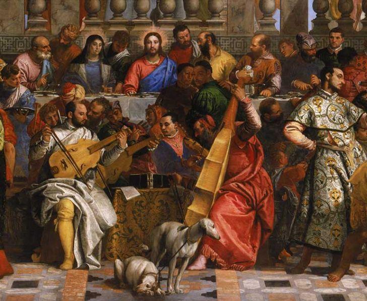 450 лет назад паоло веронезе закончил писать картину брак в кане