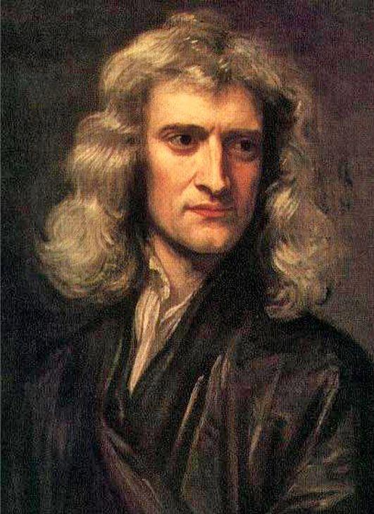 Готфрид Кнеллер. Портрет Исаака Ньютона, 1689