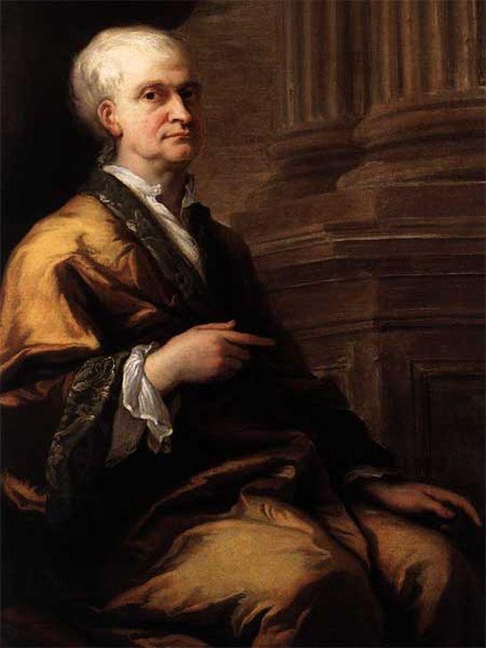 Дж. Торнхилл. Портрет сэра Исаака Ньютона, около 1712
