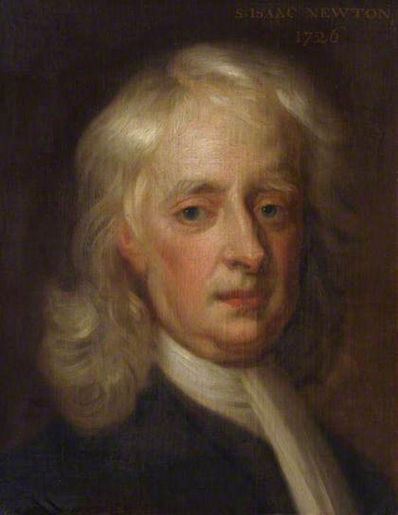 Енох Симен-младший (Enoch Seeman the younger). Исаак Ньютон, 1726