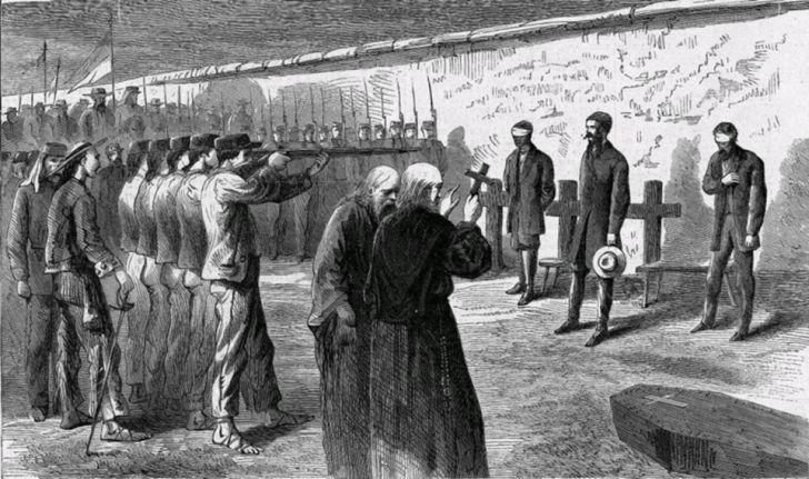 Расстрелян по приговору военного трибунала 19 июня 1867 года,за поддержку наполеона 3