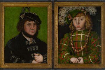 Лукас Кранах Старший. Диптих: «Два курфюста Саксонии», 1509