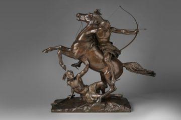 Рендольф Роджерс (Randolph Rogers). Последняя стрела (The Last Arrow), 1879–80