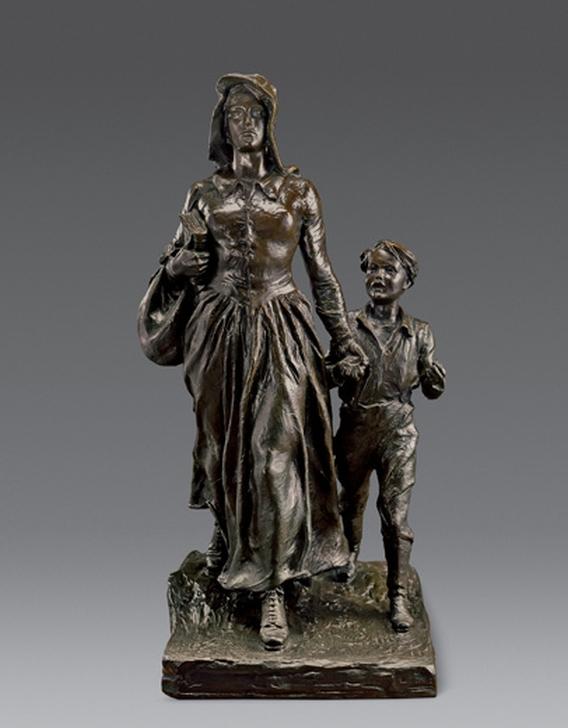 Брайан Бейкер. Женщина-пионер (Pioneer Woman), 1927