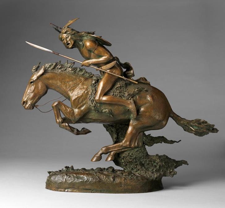 Фредерик Ремингтон. Шайен (The Cheyenne), 1901