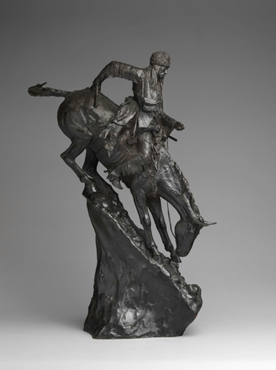 Фредерик Ремингтон. Горец. (The Mountain Man), 1903