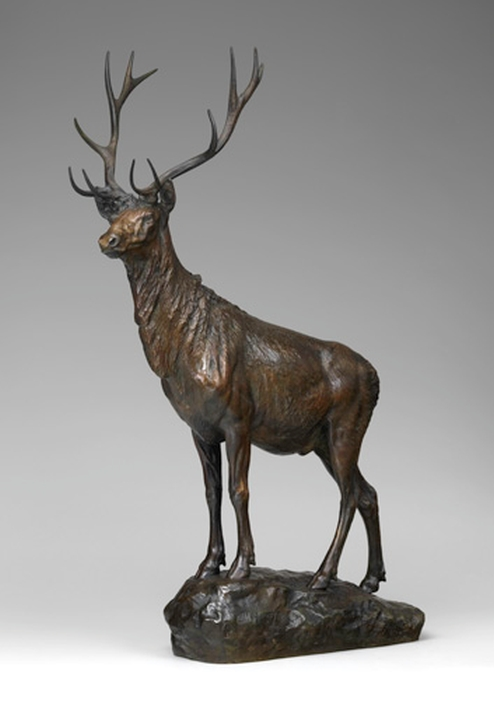 Эли Харви. Лось (Bull Elk), 1904