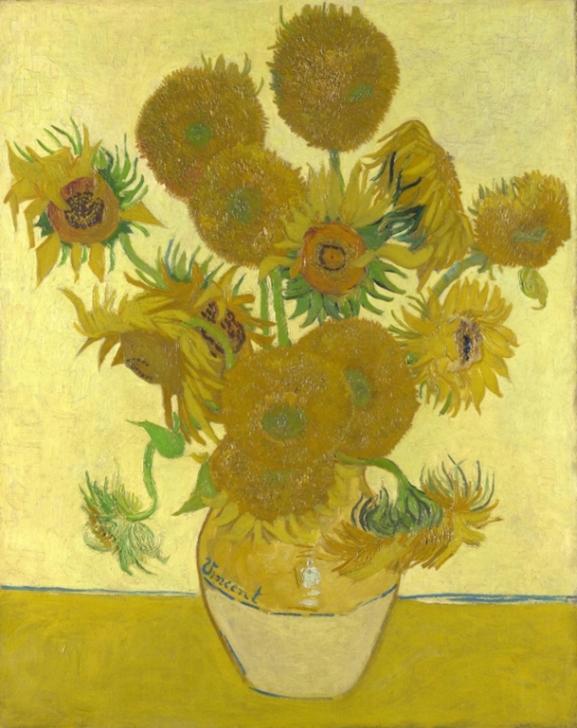 Винсент Ван Гог. Посолнухи, август 1888. Национальная галерея, Лондон