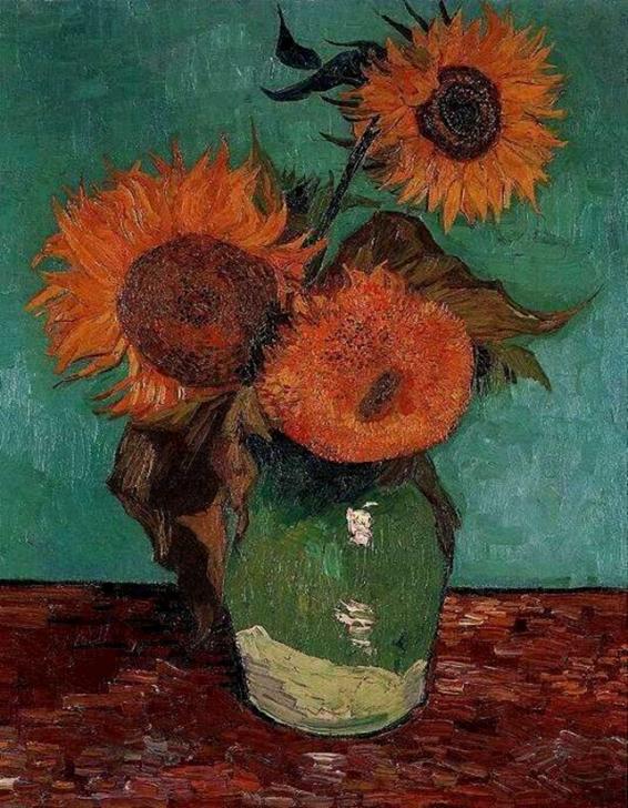 Винсент Ван Гог. Посолнухи, август 1888. Частная коллекция, США