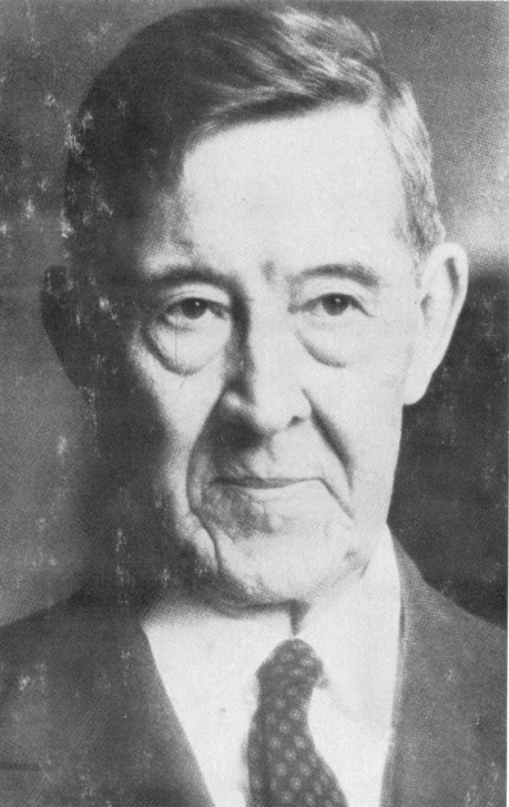 Питирим Сорокин. Фото, опубликованное на обложке автобиографии. США. 1965 г.