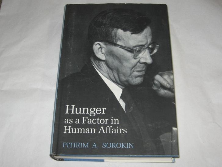 Рукописи не горят. Американское издание книги Питирима Сорокина «Голод как фактор», подготовленное 1-е издание которой в 1921 году уничтожили большевики.