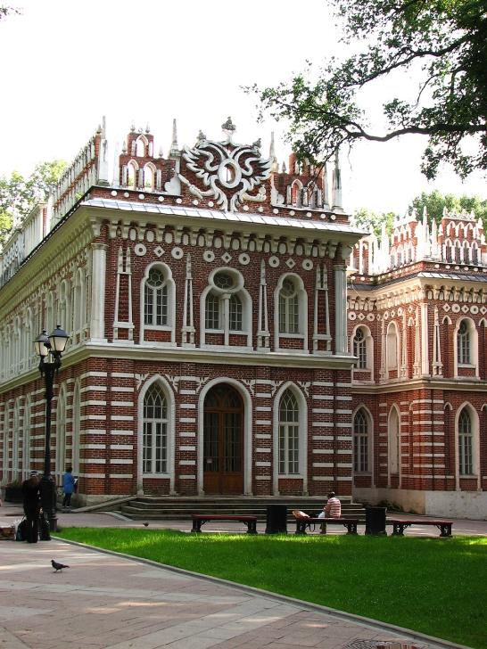 Оперный дом. Архитектор Василий Баженов. Царицыно. Около 1776-1785.