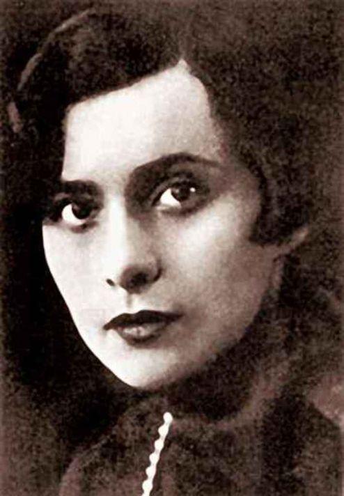 Нина Берберова. 1922.