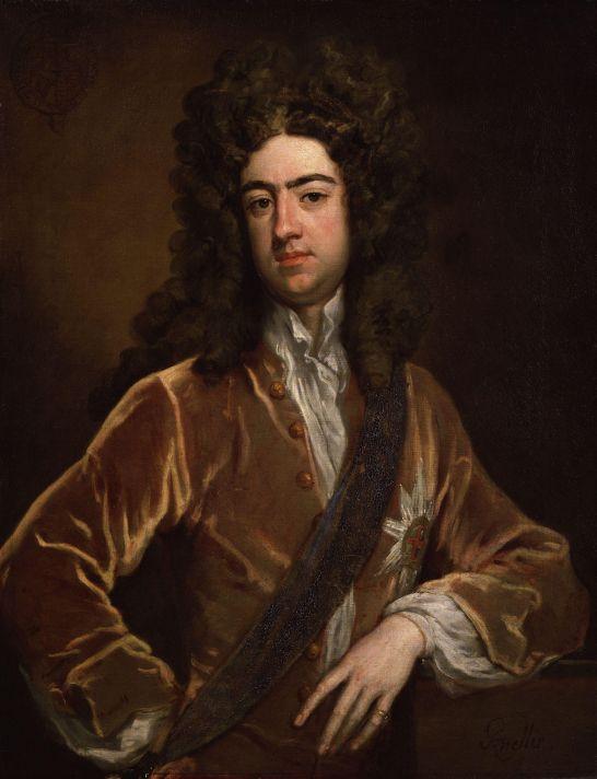 Годфри Неллер (1646-1723). Портрет Чарльза Реннокса, герцога Ричмонда и Леннокса. 1703-1710. Холст, масло. 91,4х71,1 см. Национальная портретная галерея, Лондон.