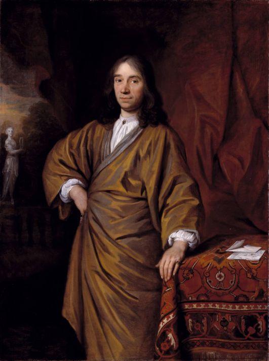 Годфри Неллер (1646-1723). Портрет Джона Бэнкса. 1676. Холст, масло. 137,2х111,6 см. Галерея Тейт, Лондон.