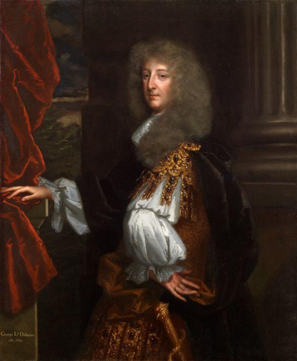 Годфри Неллер (1646-1723). Портрет сэра Джорджа Бута. Холст, масло. Национальная портретная галерея, Лондон.