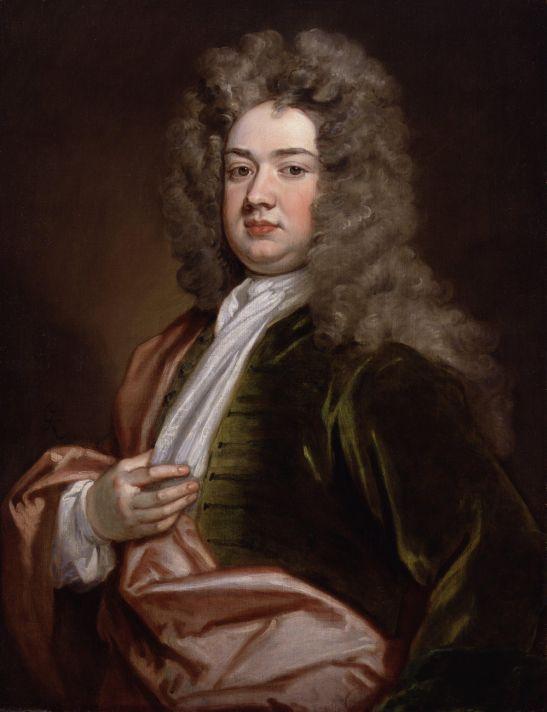 Годфри Неллер (1646-1723). Портрет барона Чарлза Корнуэлла. Между 1705 и 1715. Холст, масло. Национальная портретная галерея, Лондон.