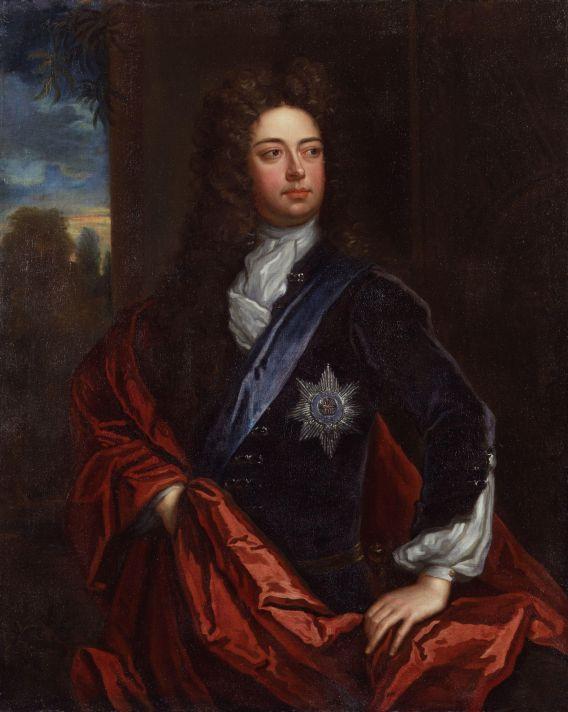 Годфри Неллер (1646-1723). Портрет Джона Черчилля, герцога Мальборо. Около 1723. Холст, масло. Национальная портретная галерея, Лондон.