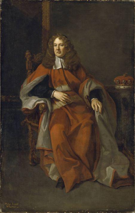 Годфри Неллер (1646-1723). Портрет Филиппа, лорда Уортона. 1685. Холст, масло. Галерея Тейт, Лондон.