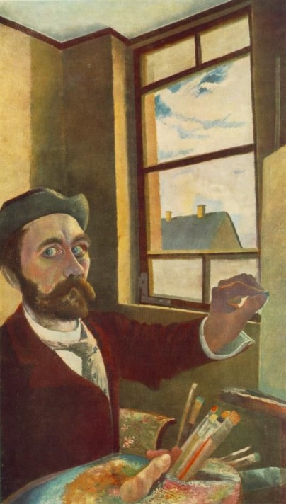 Чонтвари Костка (Csontváry Kosztka). Автопортрет (Önarckép), 1900