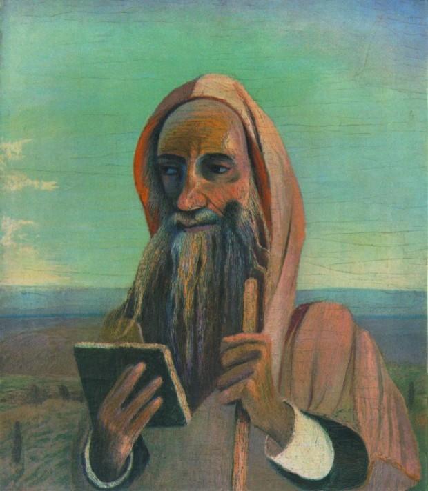 Чонтвари Костка (Csontváry Kosztka). Марроканский учитель (Marokkói tanító), 1908