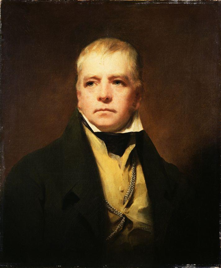 Генри Рэборн (1756-1823). Портрет Вальтера Скотта (1771-1832), романиста и поэта. 1822. Холст, масло. 76,2х63,5 см. Шотландская Национальная портретная галерея, Эдинбург.