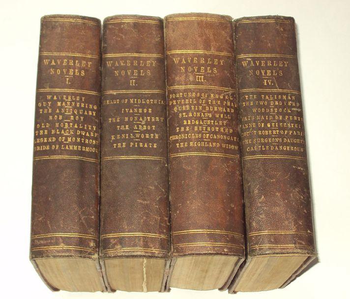 Все романы Вальтера Скотта, изданные под общим названием «Waverley Novels». 1867.