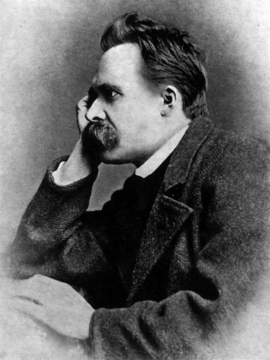 Фридрих Ницше. Фотограф Густав Адольф Шульце. 1882.