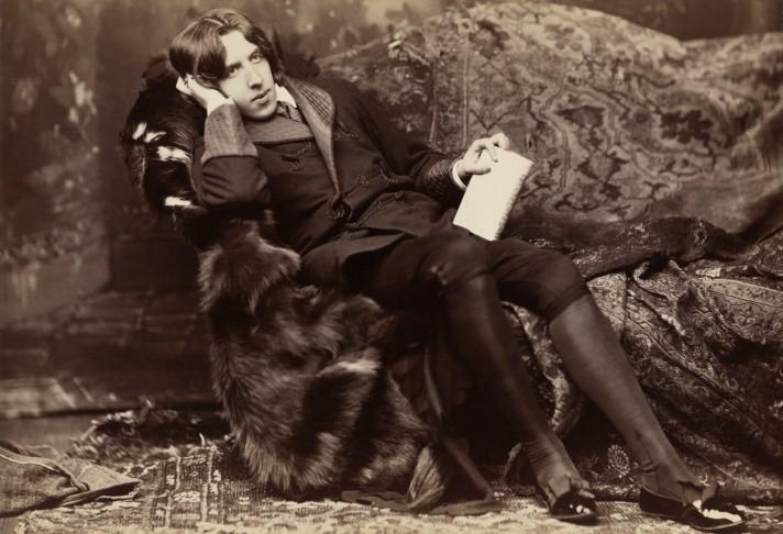Оскар Уайльд. Фото. Около 1882.