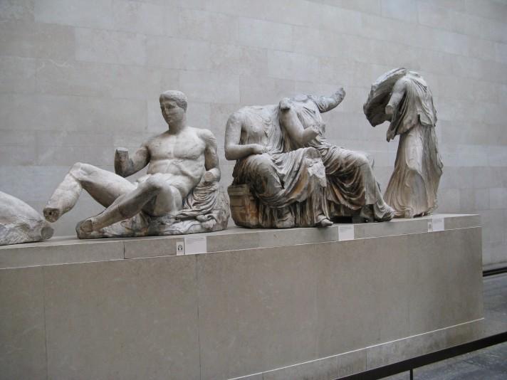 Статуи Пантеона. V в. до н.э. Мрамор. Британский музей, Лондон.
