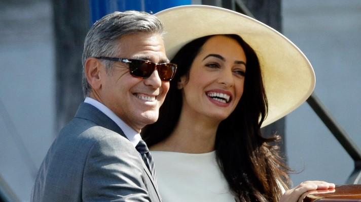 Мистер и миссис Клуни.