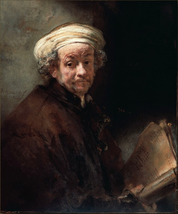 Рембрандт Хаарменс ван Рейн (1606–1669). Автопортрет. 1661. Масло, холст. 91х77 см. Рейксмюзеум, Амстердам.
