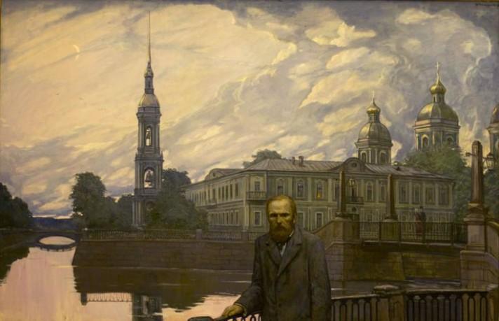 Илья Глазунов. Достоевский. Белая ночь.