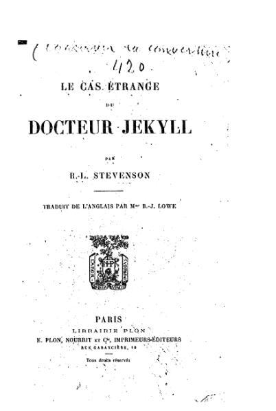 Французское издание 1890 года.