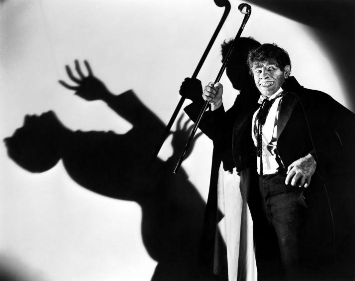 Кадр из фильма 1931 года. США. Режиссер Рубен Мамулян. В главной роли Фредерик Марч.