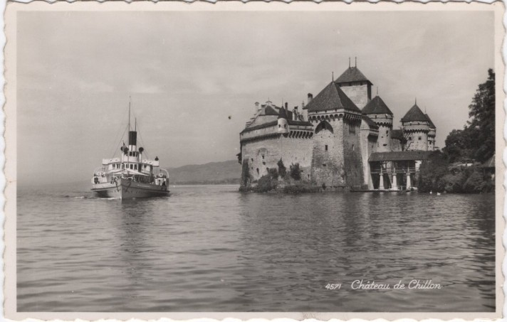Шильонский замок. Современный вид.