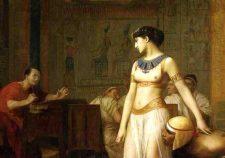 Жан-Леон Жером. Клеопатра и Цезарь. 1866. Масло, шелк на холсте. 183х129,5 см. Частная коллекция, США.