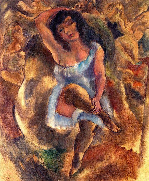 Жюль Паскин (1885-1930). Гавана. 1916-1917. Масло, холст. 55х46 см. Частная коллекция. Источник http://www.the-athenaeum.org/