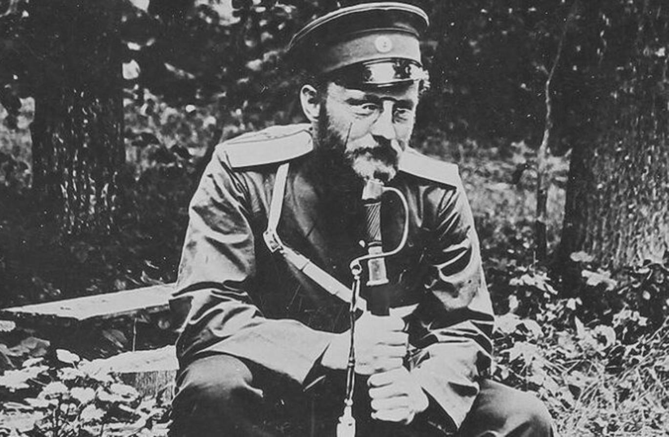 Военный врач и писатель Викентий Вересаев воевал на фронтах двух войн в Азии и Европе. Источник http://b1.culture.ru/