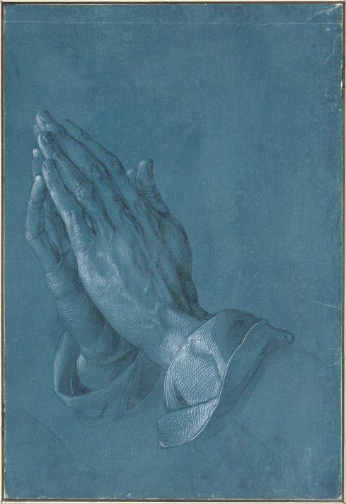 Альбрехт Дюрер. Руки молящегося. 1508. Альбертина, Вена.