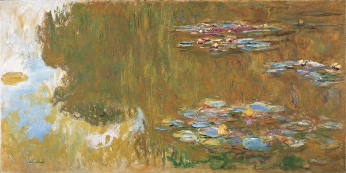 Клод Моне. Водные лилии, или Кувшинки. 1917-1919. Альбертина, Вена.