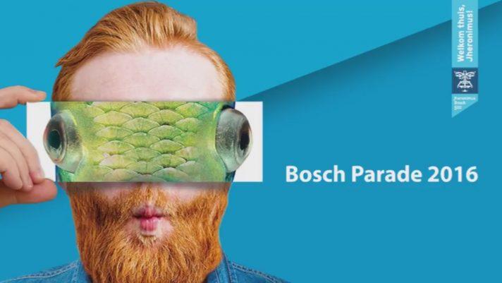 Официальный плакат Босх-парада