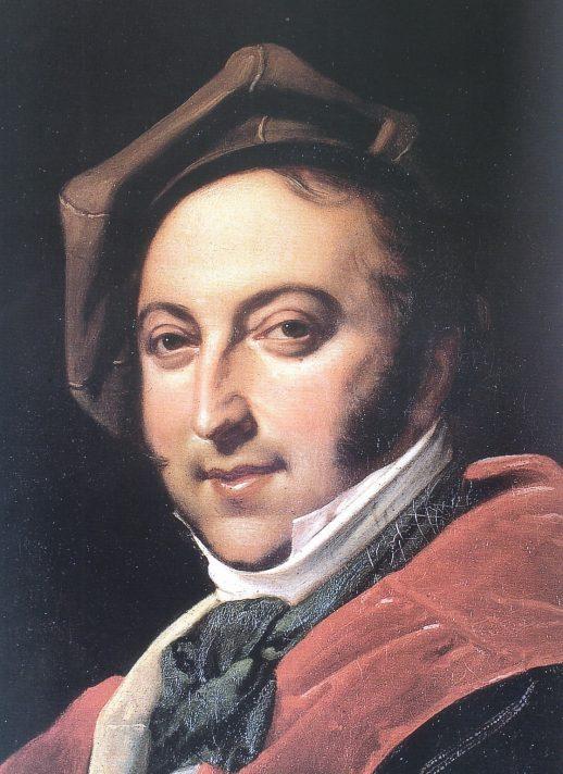Неизвестный художник. Портрет Джоакинно Россини. 1820. Международный музей и библиотека музыки, Болонья.