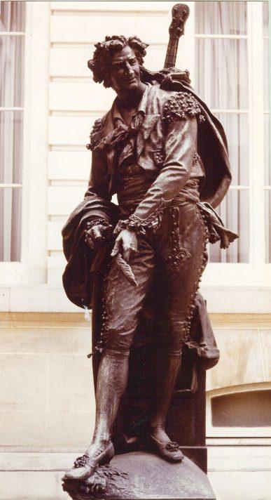 Жан Ами (1839-1907). Фигаро. Скульптура. Около 1880.