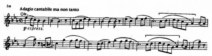 Петр Ильич Чайковский. Симфония № 1 («Зимние грёзы»). 1866. Фрагмент.