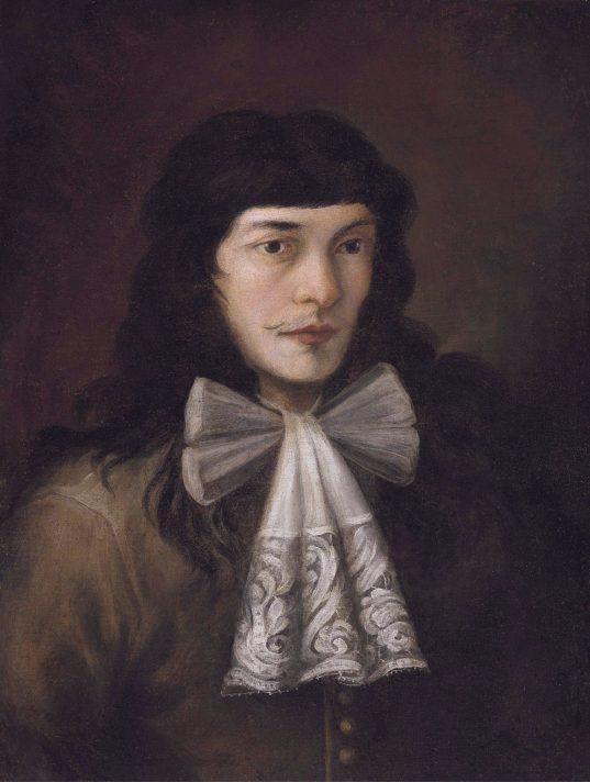 Алессандро Маньяско (1667-1749). Автопортрет. Масло, холст. 68,5х48,3 см. Аукционный дом Кристис. Источник https://upload.wikimedia.org/