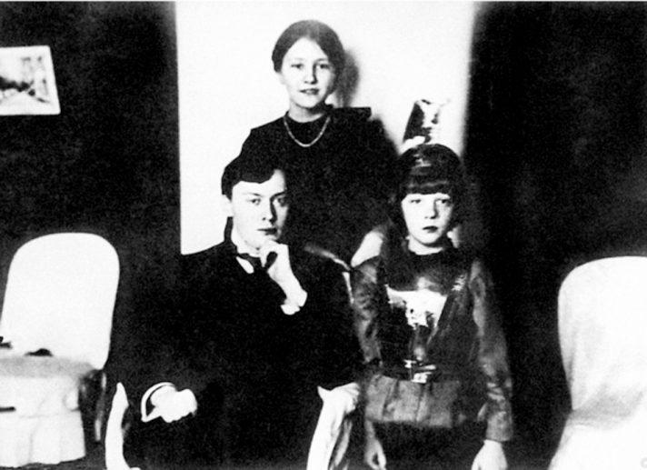 Дети Николая Энгельгардта: Николай, Анна и Александр. Источник https://lh3.googleusercontent.com/